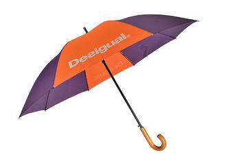Diameter 120CM Promotional Printed Umbrellas , Firm Grip Large Golf Umbrella