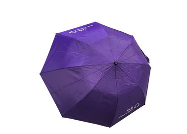 Foldable Anti UV Umbrella , Triple Fold Umbrella Super Light Manual Close Open