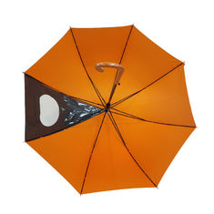 J Handle 27 Inch Long Shaft Windproof Golf Umbrella