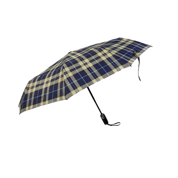 TUV Windproof Compact 3 Folding Umbrella For Travel
